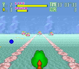 Yoshi's Safari (USA) In game screenshot
